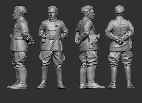 Human Admiral from RavenX Studios