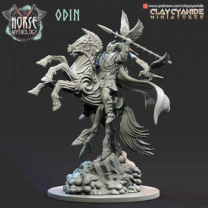 Odin form Clay Cyanide miniatures