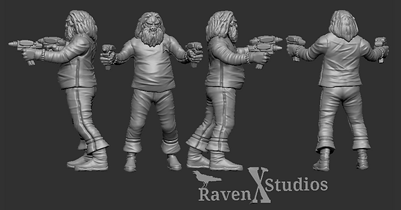 Commander Tellarite from RavenX Studios