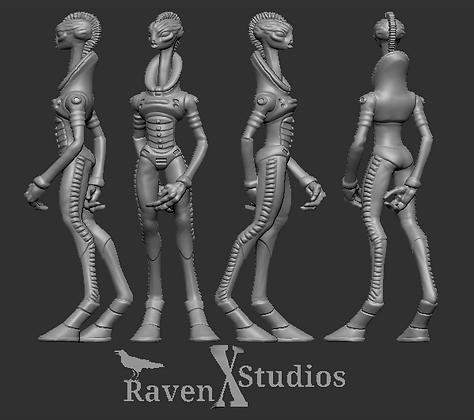 Kaminos scientist Male variant 4 From RavenX Studios
