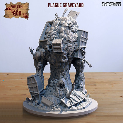 Plague Graveyard from clay cyanide