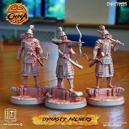 Dynasty Archers from clay cyanide