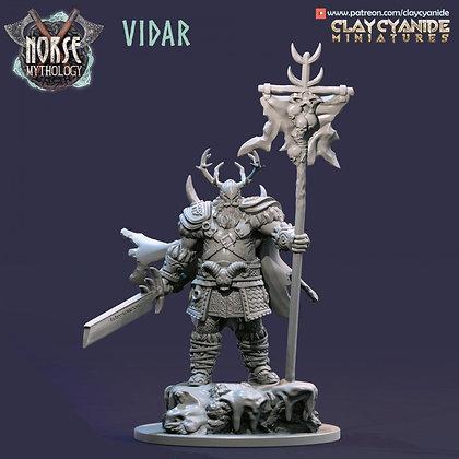 Vidar from Clay Cyanide miniatures