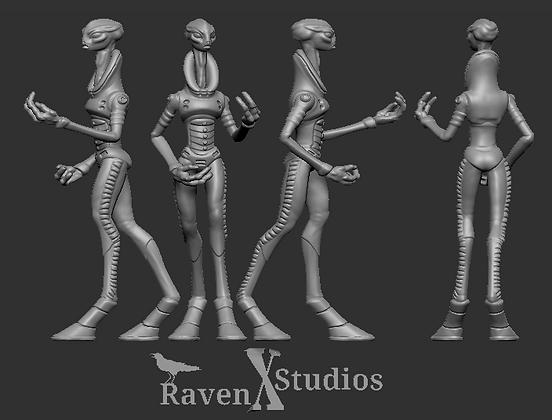Kaminos scientist variant 2 From RavenX Studios