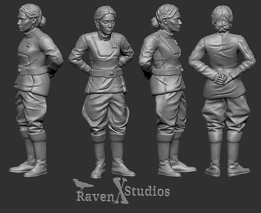 Human NPC Grand Republic Navy Major From RavenX Studios
