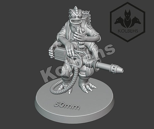 Besalisk Bunker Buster From Kolbehs Painting and Design