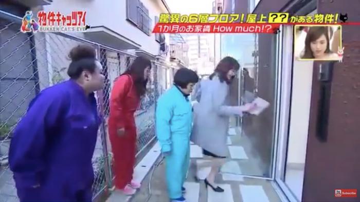 "A TV program visited the ""Saien Nagaya"""