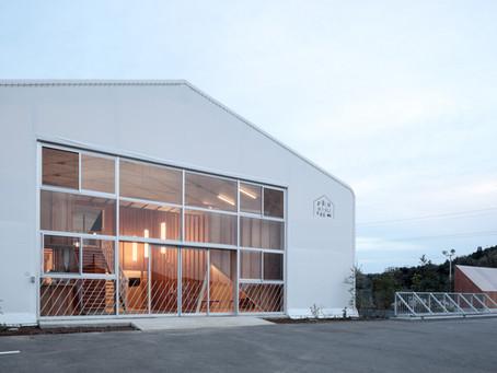 Fukumasu Base on the designboom