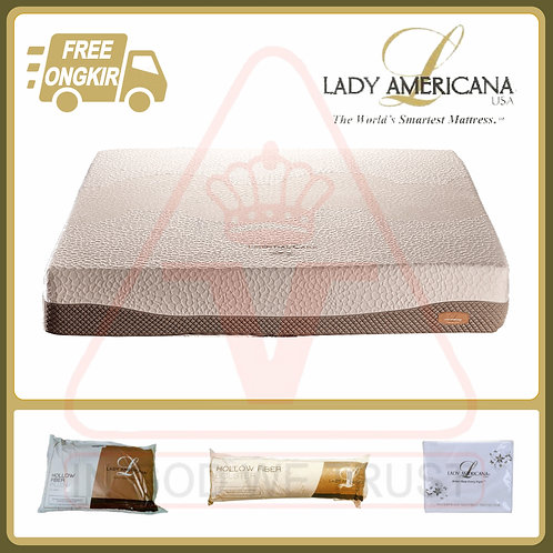 Lady Americana - Essential Care - Kasur Saja - 160 x 200 / 160x200
