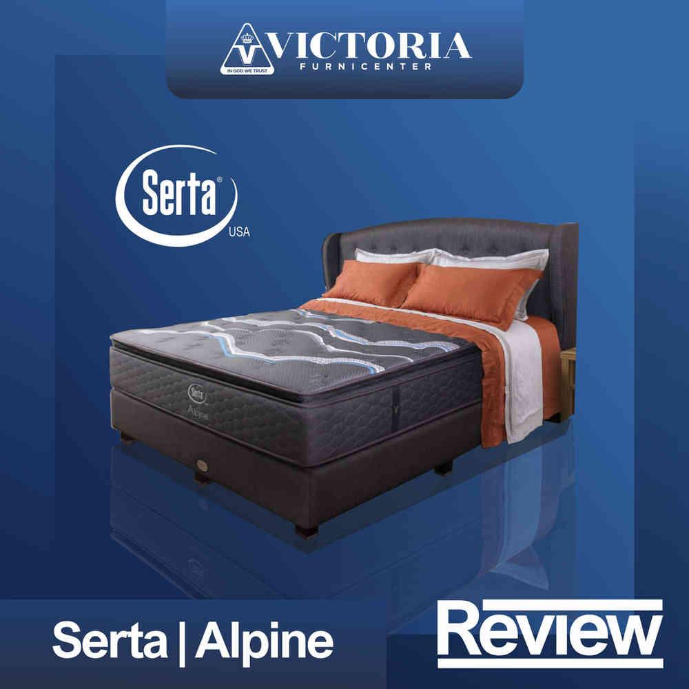 Review Kasur dan Harga SERTA ALPINE Spring Bed Springbed Matras Surabaya Sidoarjo Malang