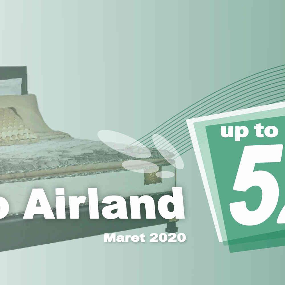 Harga Airland Spring Bed Promo Diskon Maret 2020 | Surabaya Sidoarjo Malang | Victoria Furnicenter