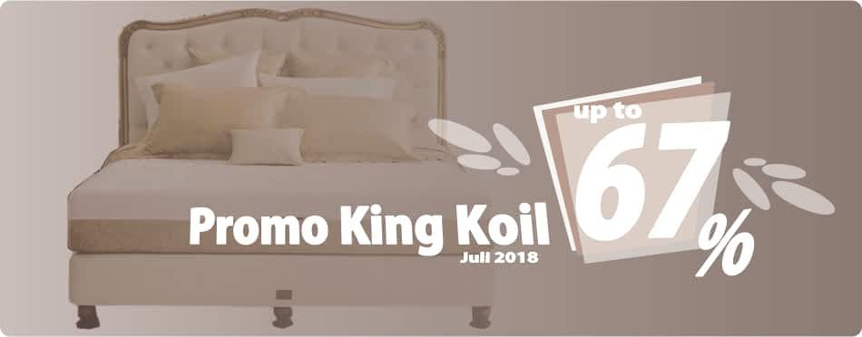 Promo King Koil Bulan Juli 2018