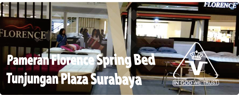 Pameran Florence Spring Bed di Tunjungan Plaza Surabaya