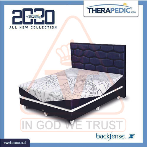 Therapedic - Backsense X - Kasur Saja - 160 x 200 / 160x200