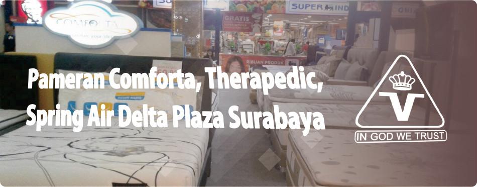 Pameran Comforta, Therapedic, Spring Air Termurah April 2018