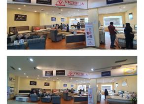 Victoria Furnicenter MOG Malang | Stand Kasur Spring Bed di Mall Paling Lengkap Kota Malang