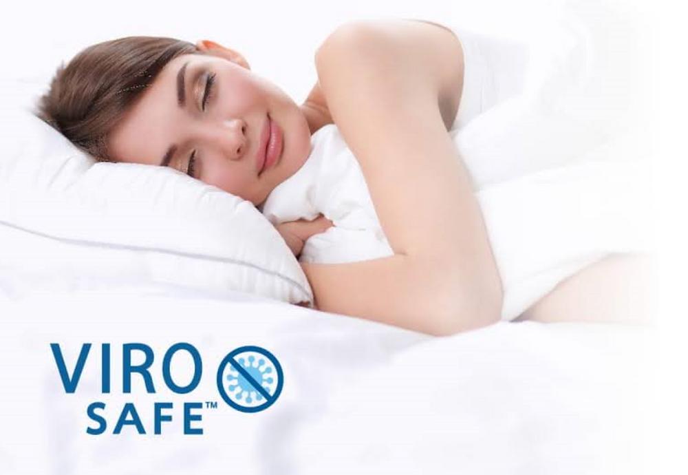 ViroSafe™, yakni teknologi yang memberikan perlindungan kasur dari aktivitas virus mikroorganisme di dalam kasur