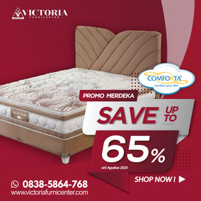Up to 65% OFF | Harga Promo Comforta Spring Bed | Agustus 2020