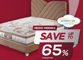 Up to 65% OFF   Harga Promo Comforta Spring Bed   Agustus 2020