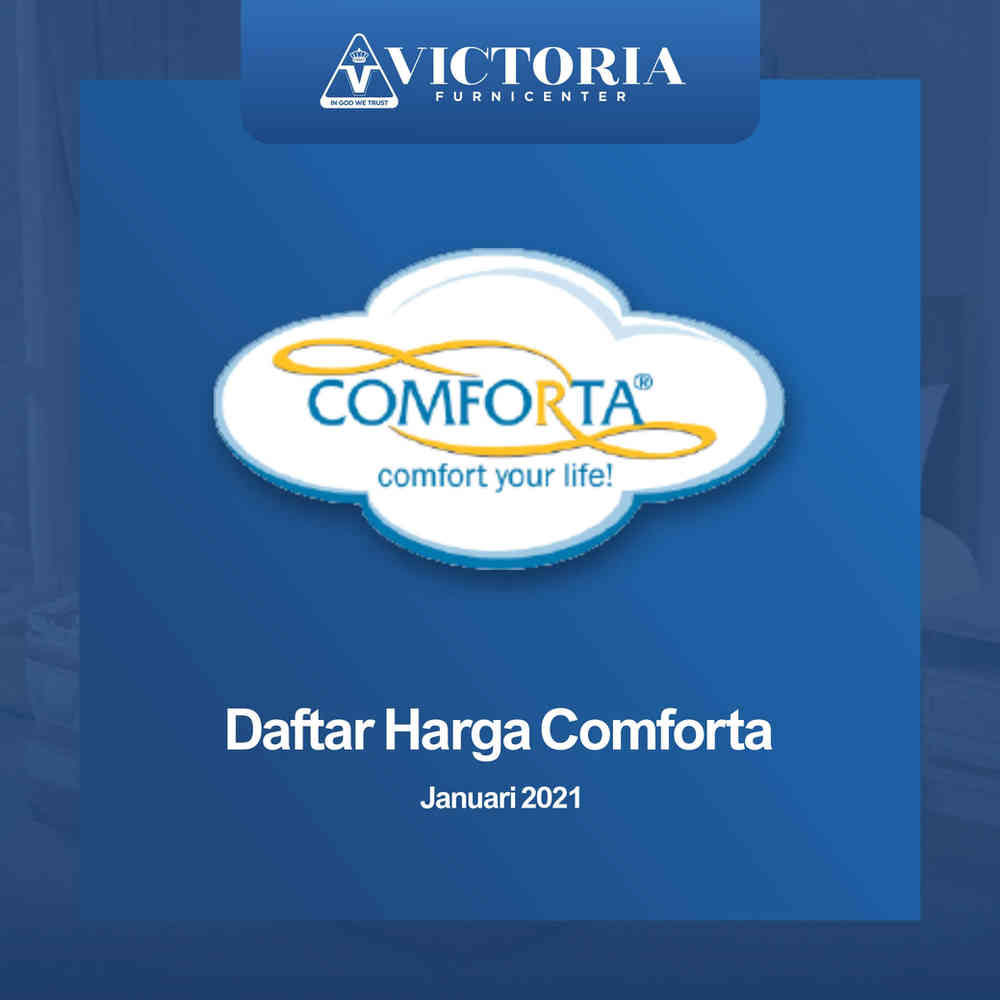 Daftar Harga Comforta Spring Bed Surabaya Jawa Timur | Januari 2021 | Victoria Furnicenter