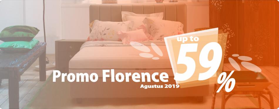 Promo Florence Bulan Agustus 2019