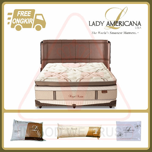Lady Americana - Royal Azzure - Set - 200 x 200 / 200x200
