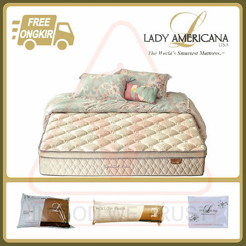 Lady Americana - Spinal Care - Kasur Saja - 180 x 200 / 180x200