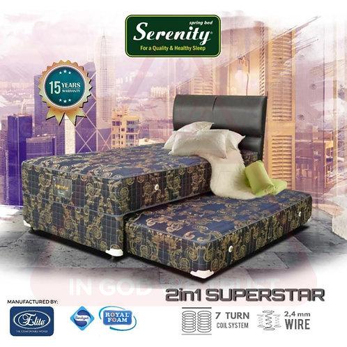 Serenity by Elite - SuperStar 2in1 - Set - 120 x 200 / 120x200