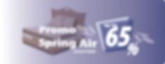 Diskon Spring Air up to 65% Januari 2020 Surabaya Sidoarjo