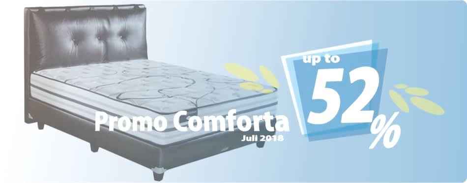Promo Comforta Bulan Juli 2018