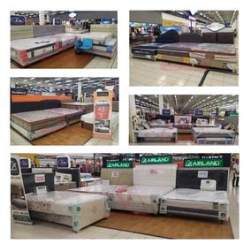 Victoria Furnicenter Giant Waru Surabaya | Stand Kasur Spring Bed di Mall Lengkap Kota Surabaya