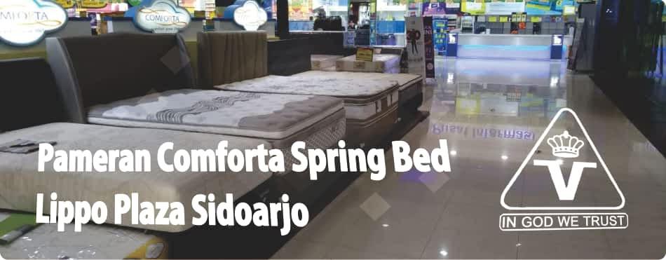 Pameran Comforta Bed di Lippo Plaza Sidoarjo Juni 2018 (2)