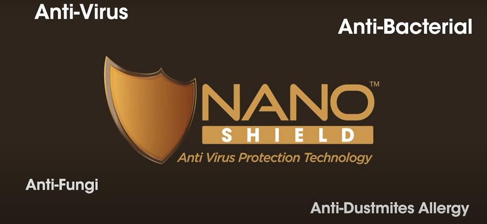 Nano™ Shield Anti Virus Protection Technology