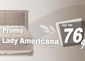 Harga Lady Americana Bed Promo Diskon April 2020 | Surabaya Sidoarjo Malang | Victoria Furnicenter