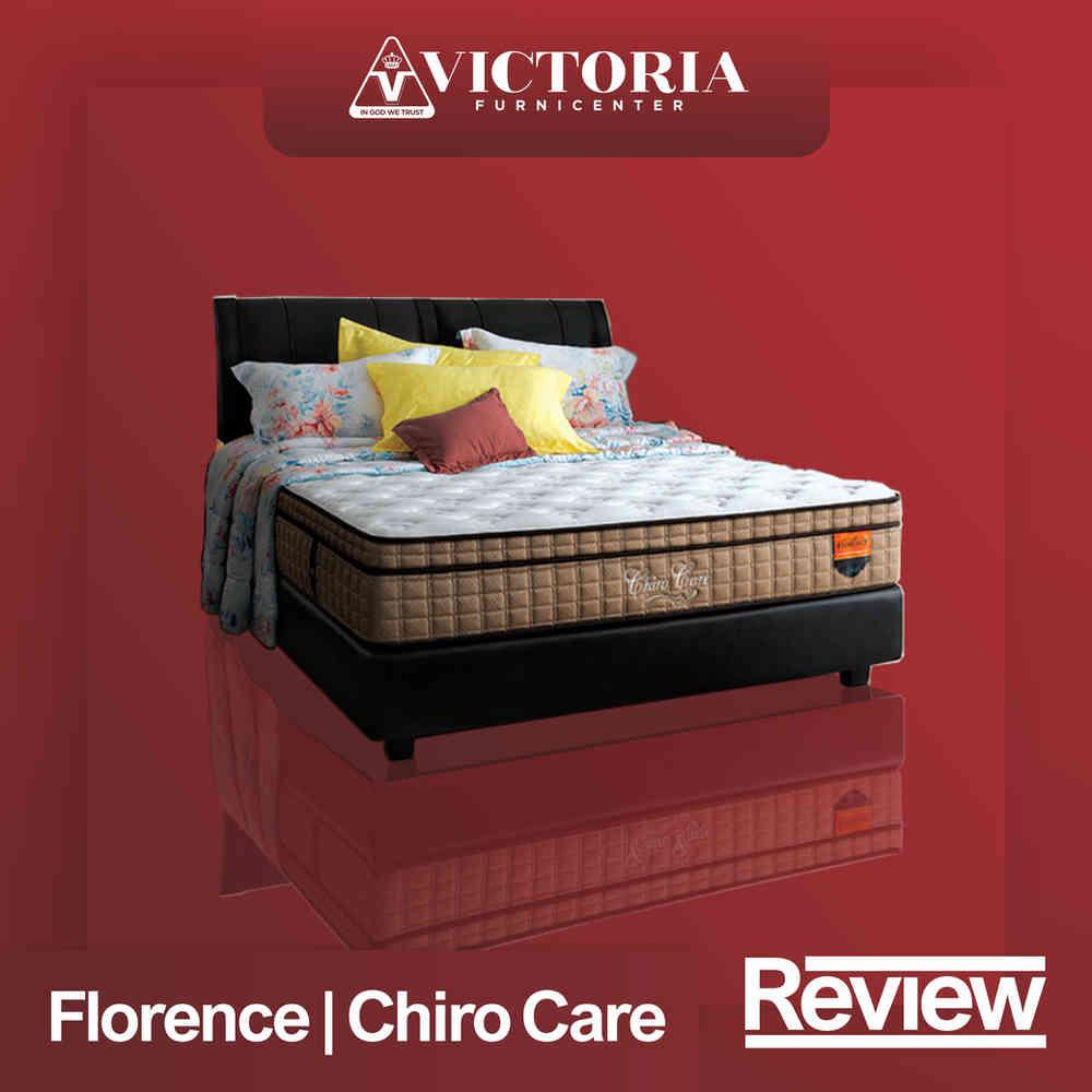Review Kasur dan Harga FLORENCE CHIRO CARE Spring Bed Springbed Matras Surabaya Sidoarjo Malang