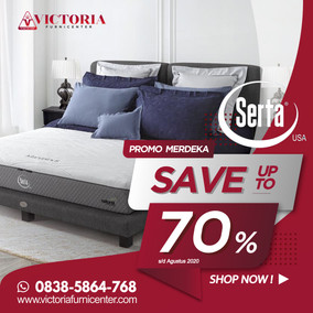 Up to 70% OFF | Harga Promo Serta Spring Bed | Agustus 2020