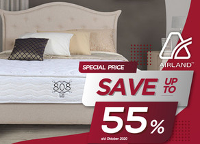 Up to 55% OFF | Harga Promo Airland Spring Bed | Oktober 2020