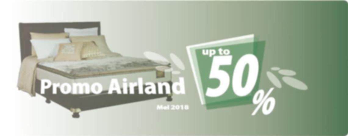Promo Airland Bulan Mei 2018