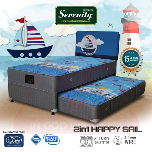Serenity by Elite - Happy Sail 2in1 - Set - 120 x 200 / 120x200