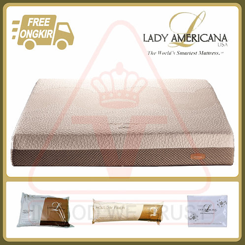 Lady Americana - Royal Heritage - Kasur Saja - 200 x 200 / 200x200