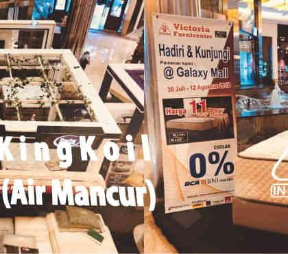 Pameran King Koil Spring Bed di Galaxy Mall Surabaya   Special Promo