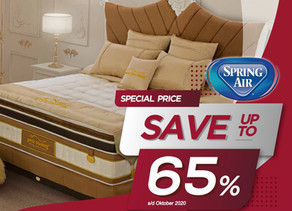 Up to 65% OFF   Harga Promo Spring Air Spring Bed   Oktober 2020