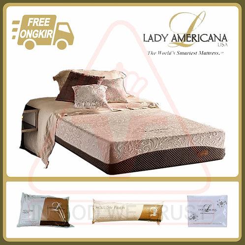 Lady Americana - Royal Solitaire - Kasur Saja - 200 x 200 / 200x200
