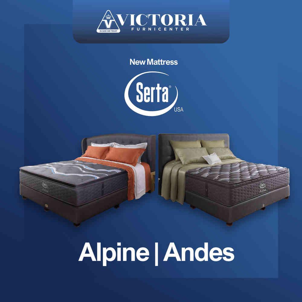 Serta Alpine & Andes | Perlindungan dari Virus dan Bakteri | Harga Alpine Andes Terbaru 2020