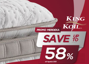 Up to 58% OFF | Harga Promo King Koil Spring Bed | Agustus 2020