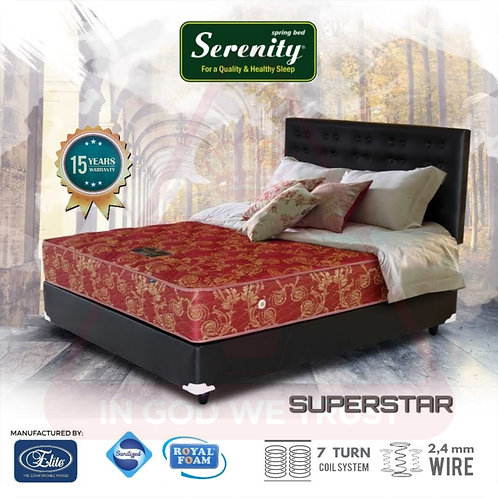 Serenity by Elite - SuperStar - Kasur Saja - 90 x 200 / 90x200