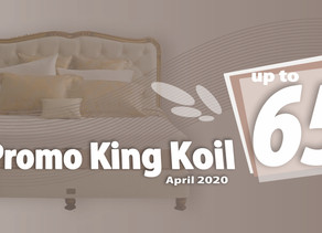 Harga King Koil Spring Bed Terbaru Promo Diskon April 2020 | Surabaya Sidoarjo Malang