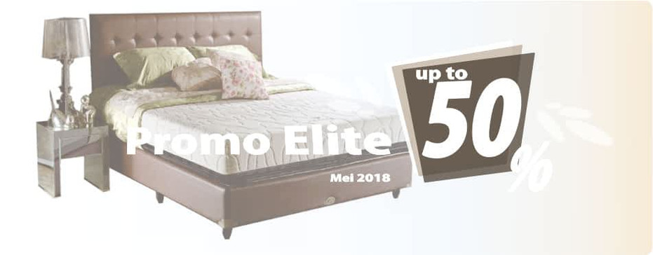 Program Elite Spring Bed per Bulan Mei 2018