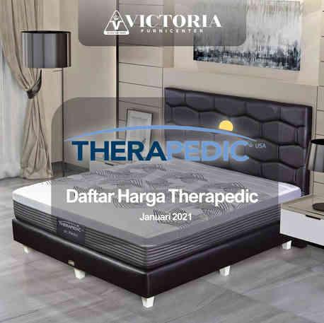 Daftar Harga THERAPEDIC Spring Bed Surabaya Jawa Timur | Januari 2021 | Victoria Furnicenter