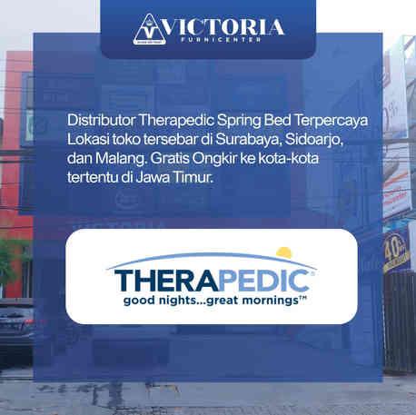 Jual THERAPEDIC Spring Bed Beli Harga Murah Distributor Pabrik Surabaya Sidoarjo Malang